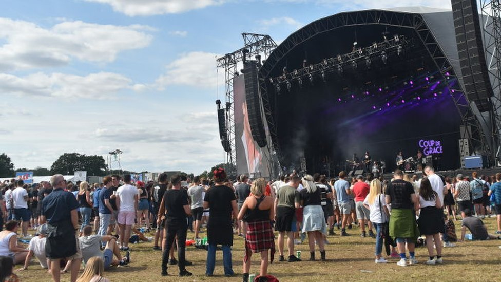 Man arrested over rape at RiZE Festival in Essex