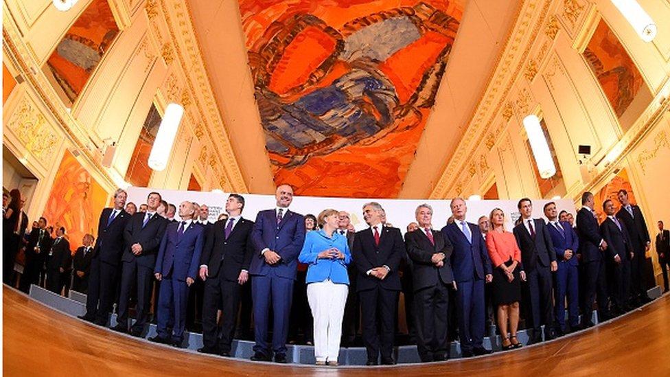 Balkanski i evropski lideri u Beču