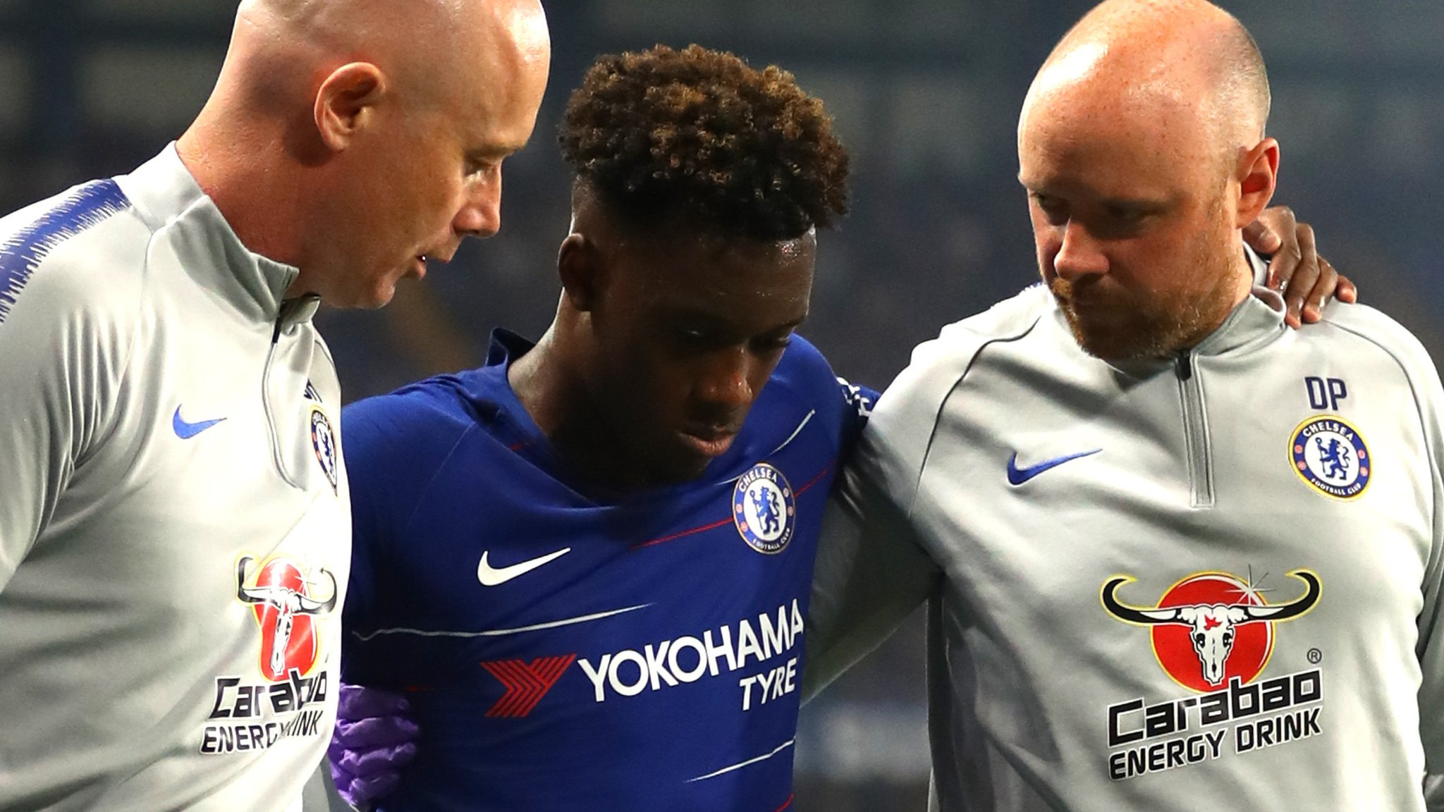 Chelsea's Hudson-Odoi out with ruptured Achilles
