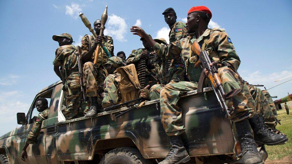 Cerca de un tercio de la población ha sido desplazada por el conflicto que estalló en Sudán del Sur en 2013.