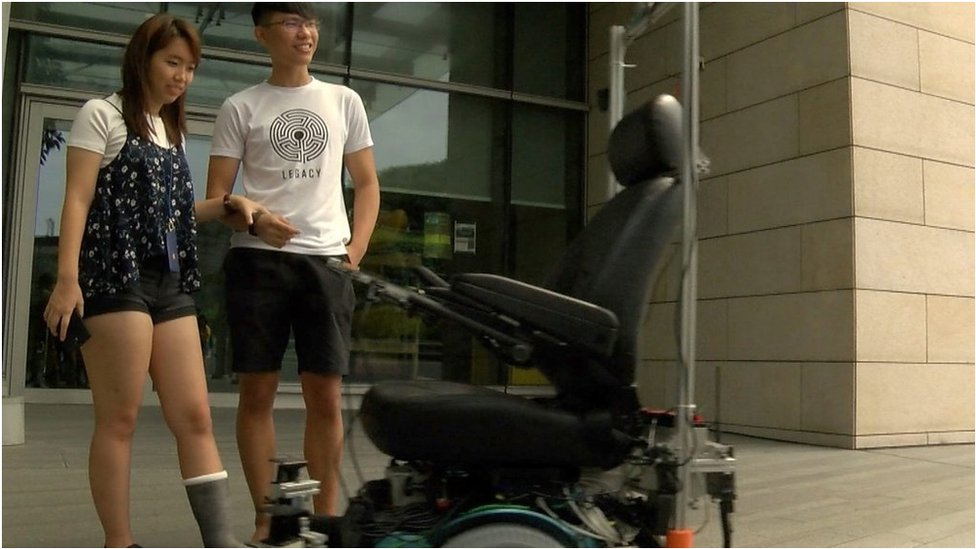 Driverless wheelchairs 'bring independence'