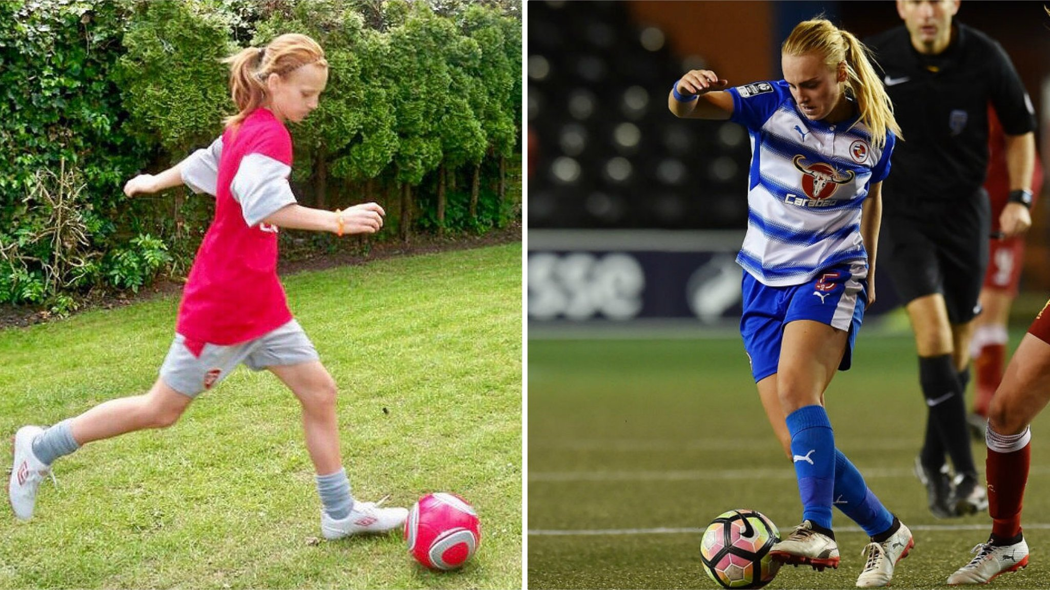 Molly Bartrip: Reading defender on overcoming teenage anorexia