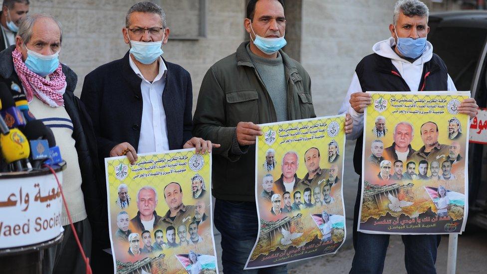 Gazze'de Filistinlilerin aşı programına dahil edilmemesi protesto edildi.