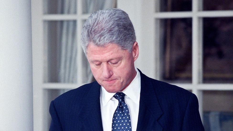 Bill Clinton in 1998
