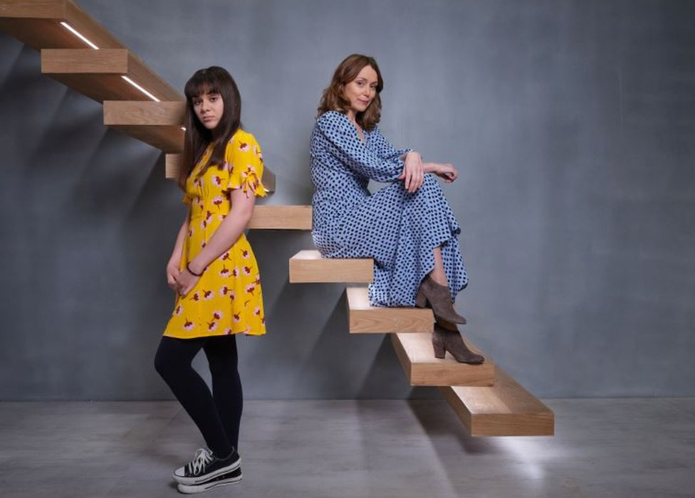 Finding Alice is fronted by Keeley Hawes