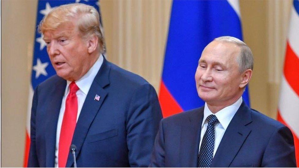 """美國總統特朗普此前還多次表示《新削減戰略武器條約》是奧巴馬政府留下的一個""""糟糕的交易"""",不過俄羅斯一直將該條約稱為裁軍領域的黃金標凖"""