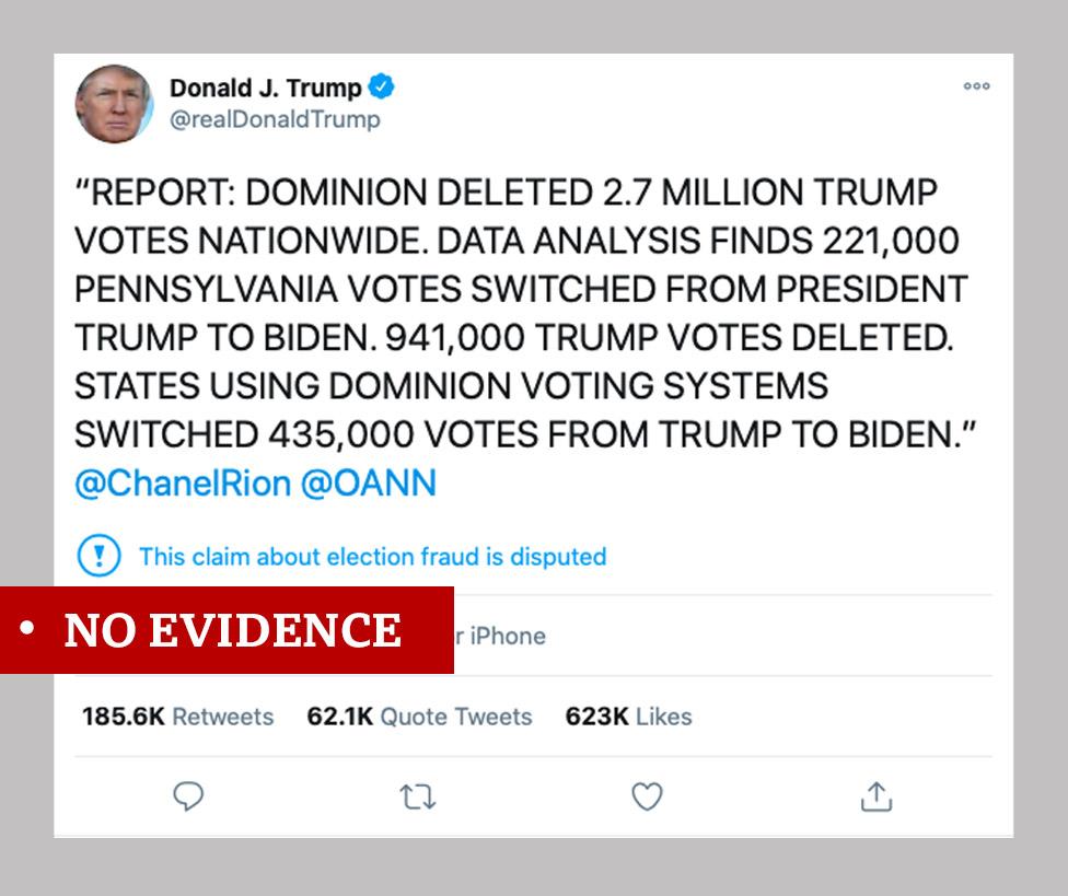 特朗普的推特帖