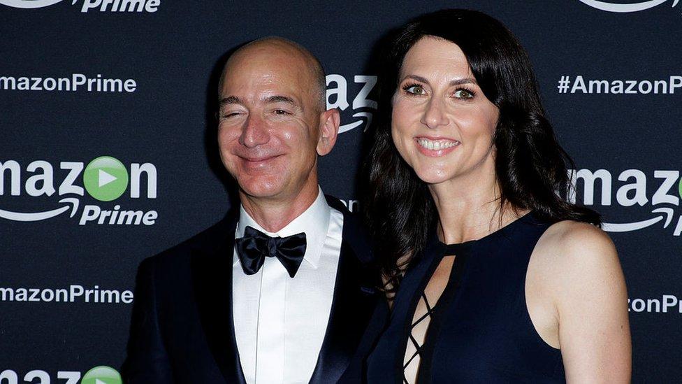 Scott y su exmarido Bezos