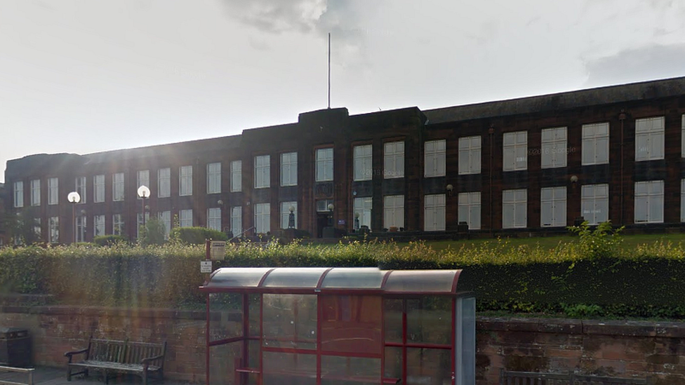 Girl, 13, arrested over Dumfries school assault