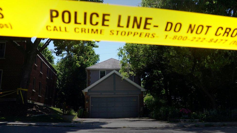 Casa donde trabajaba Bruce McArthur, en Toronto.