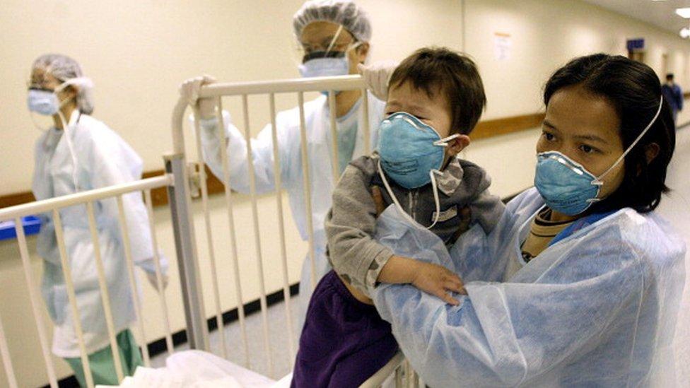 SARS, Çin'in ardından Hong Kong, Vietnam ve Kanada'da görüldü.