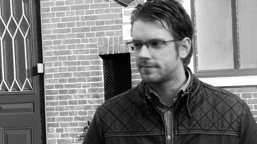 Dutch graduate Bastiaan