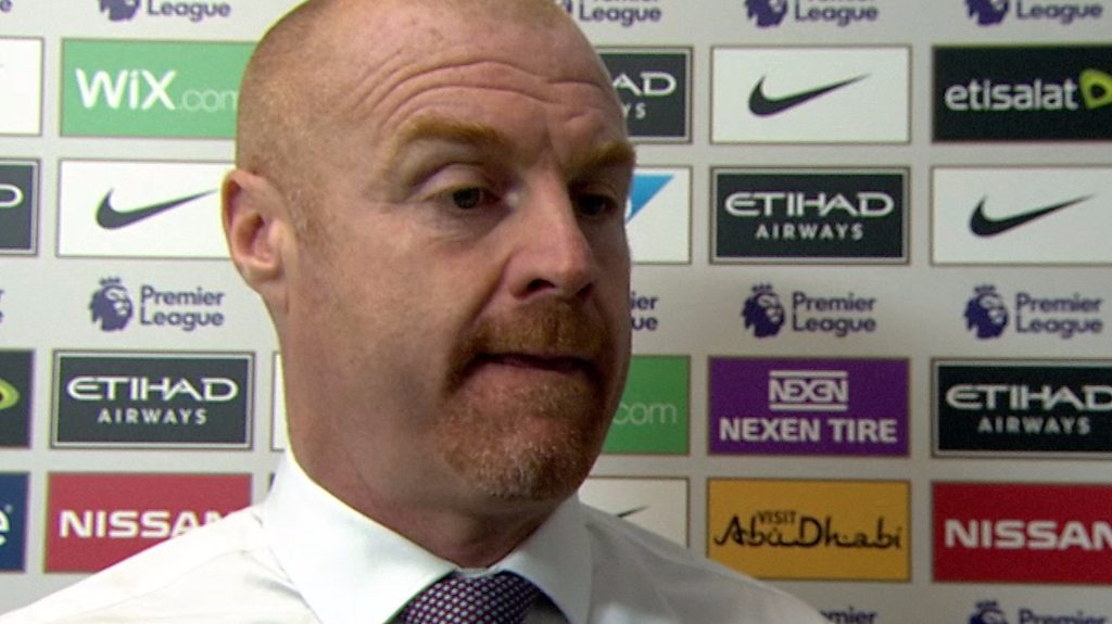 'If I pull your jumper...' - Dyche gets hands-on with MOTD reporter