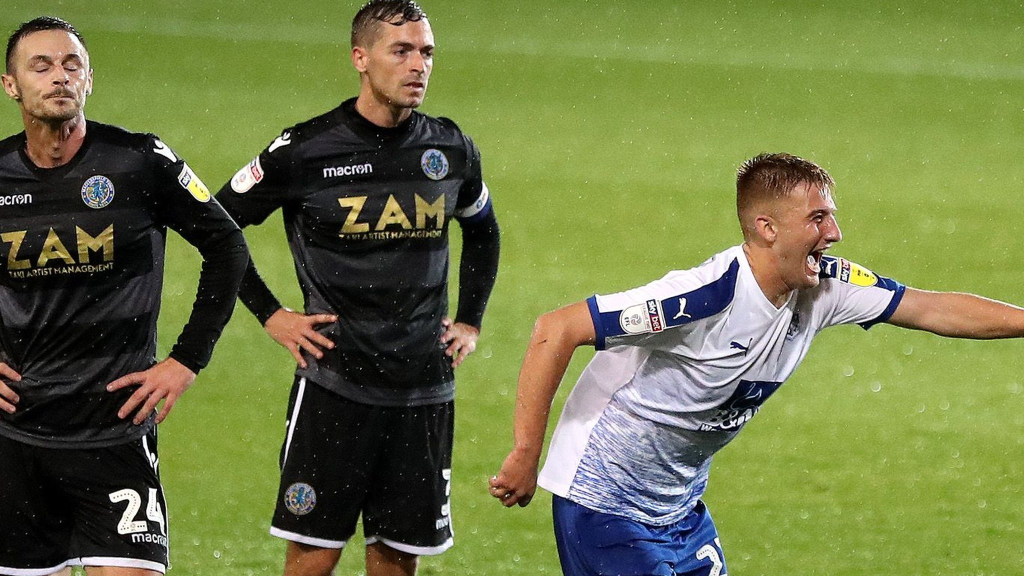 League Two: Tranmere Rovers 1-0 Macclesfield Town