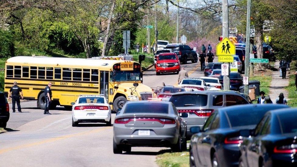 Стрельба в американской школе. Полиция сообщает о нескольких пострадавших