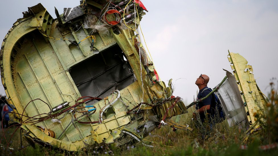 MH17: Four charged with shooting down plane over Ukraine