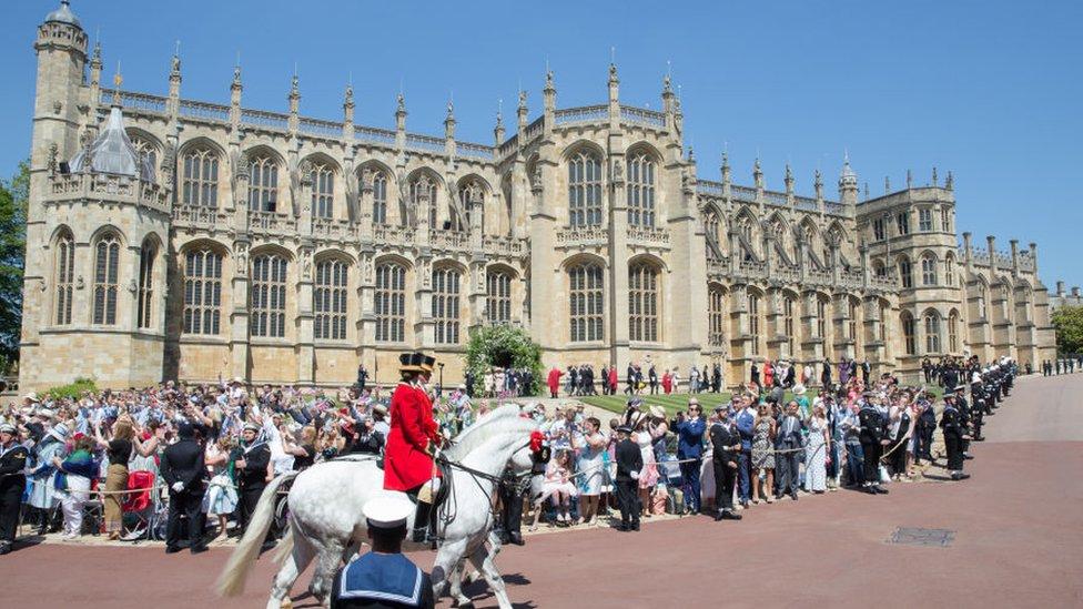 Palacio de Windsor.