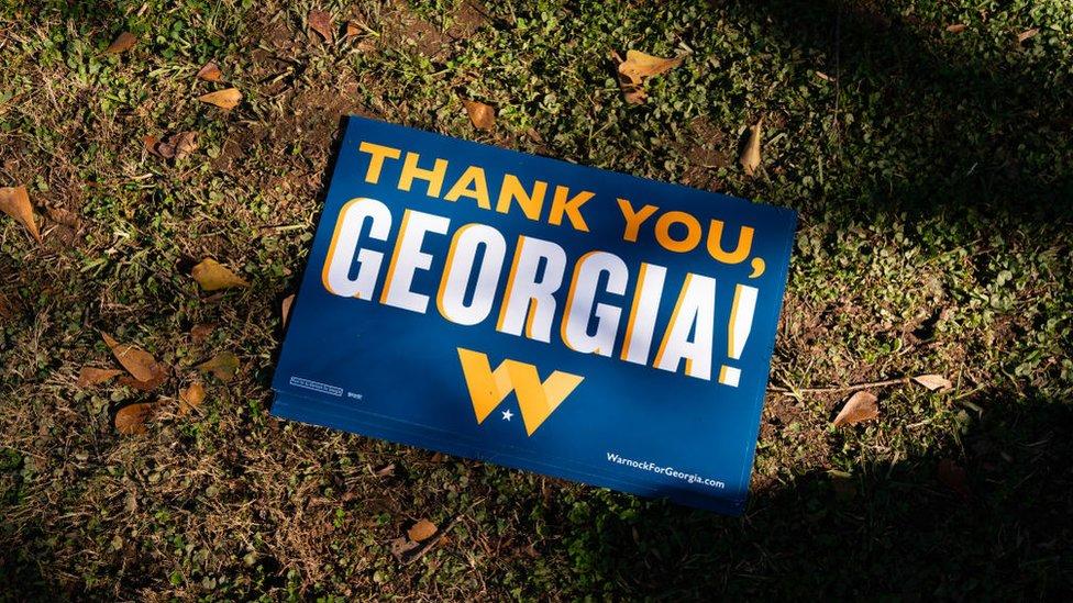 喬治亞州參議員競選集會
