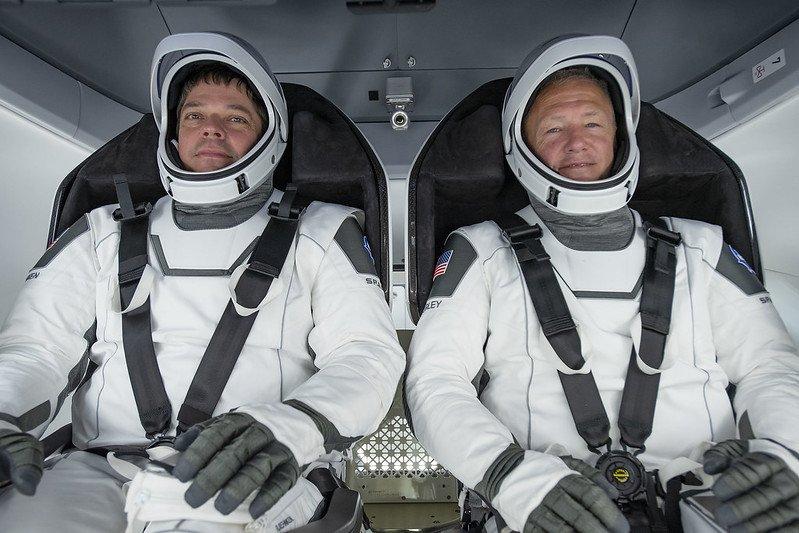 Doug Hurley y Bob Behnken