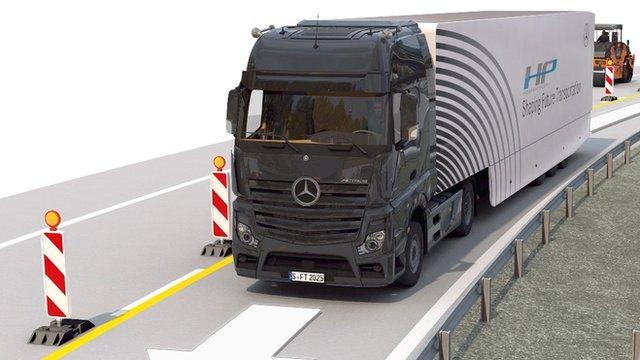 Daimler lorry