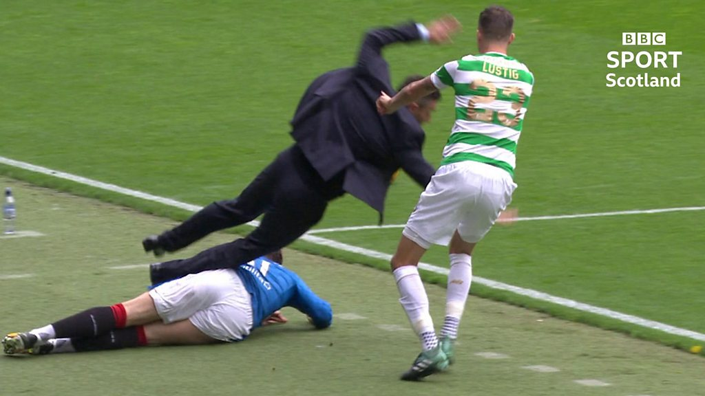 Goals, celebrations & tumbles - best bits of the Scottish season