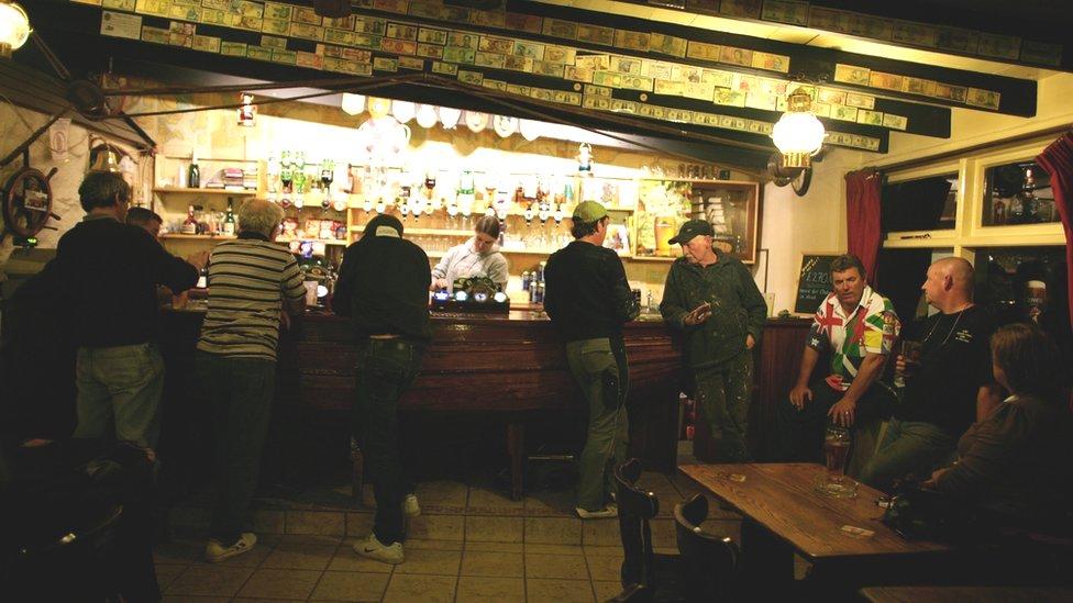 Bel Air pub in Sark