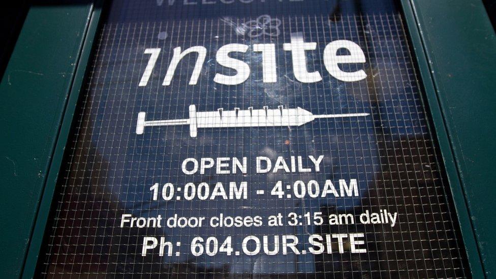 Insite's front door