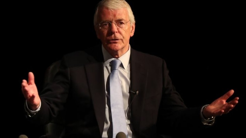 John Major speaking at the Best for Britain event