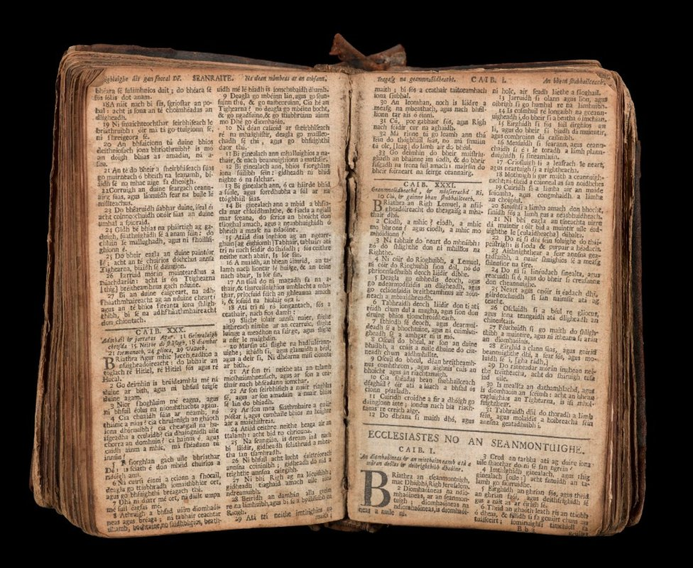 This Gaelic bible pictured above belonged to a soldier who served with the Argyll militia, raised by the Clan Campbell to fight on the side of the government forces