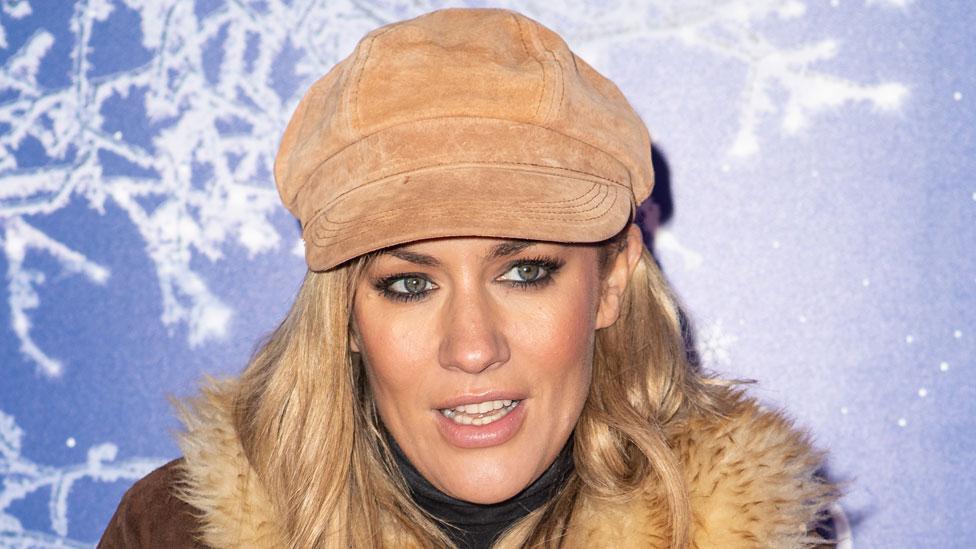 Caroline Flack in November 2019