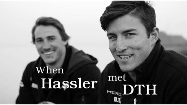 Canada wings Jeff Hassler and DTH van der Merwe