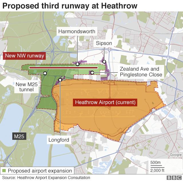 Supreme Court overturns ban on Heathrow's third runway