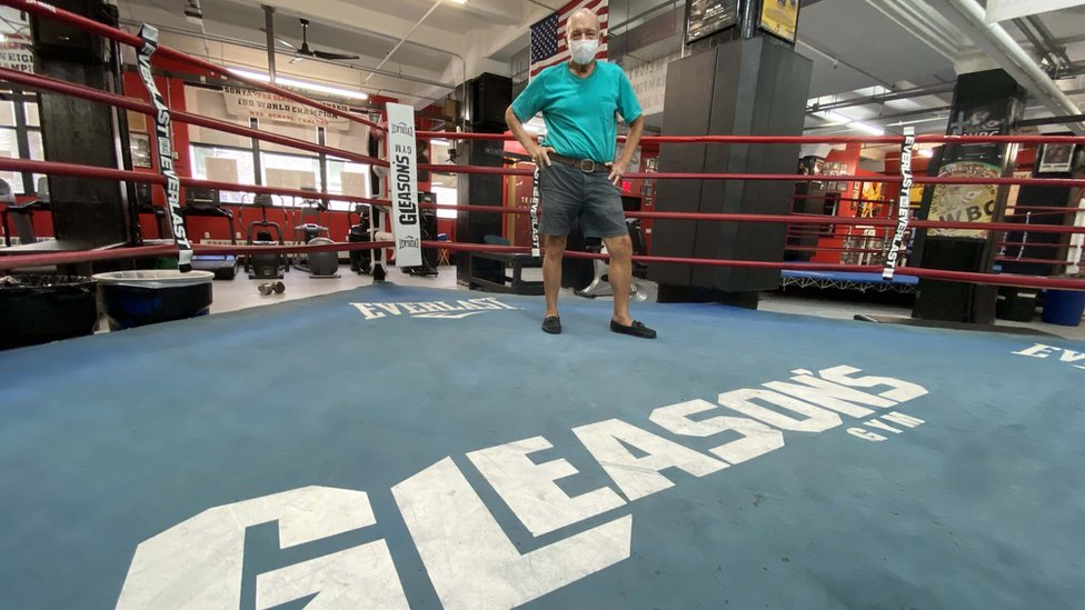 Coronavirus The Last Round Fight For Nyc S Bastions Of Boxing Bbc News