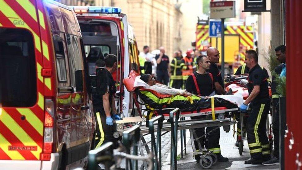 У французькому Ліоні стався вибух
