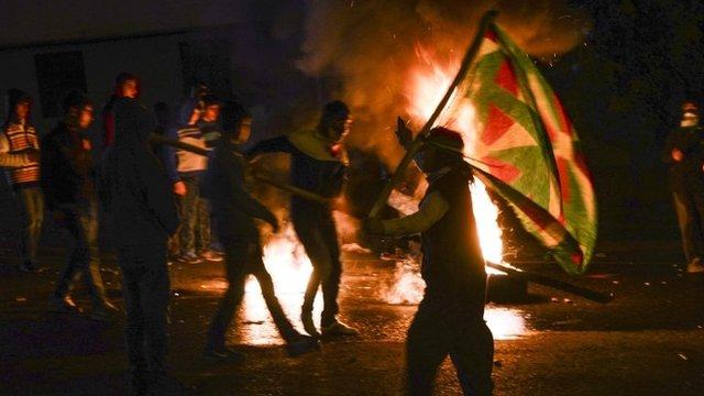 Protests in Diyarbakir