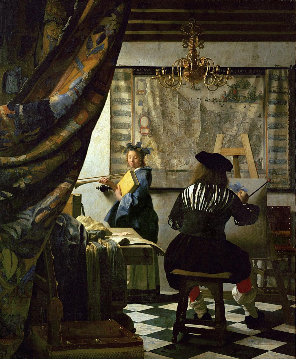 El arte de la pintura (Alegoría de la pintura)