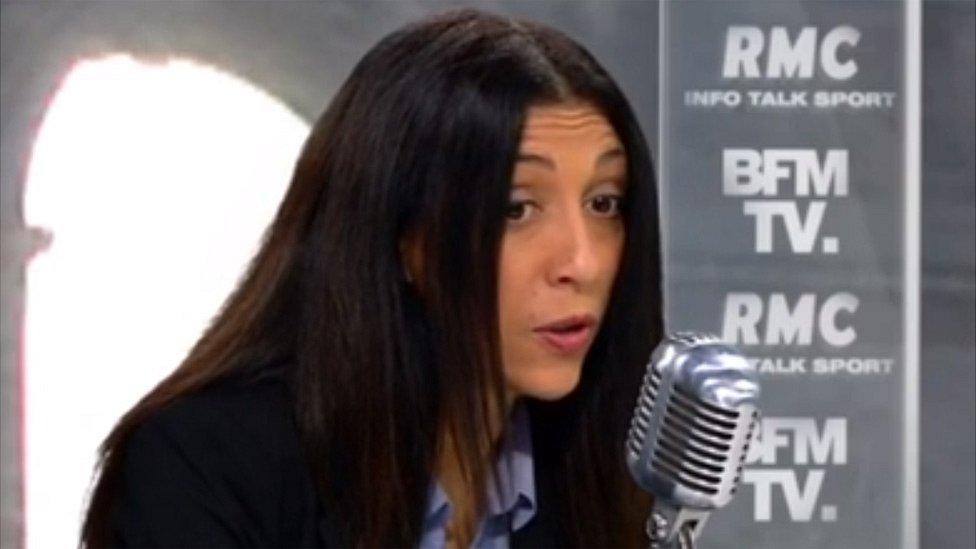 Henda Ayari on BFMTV, 30 Oct 17