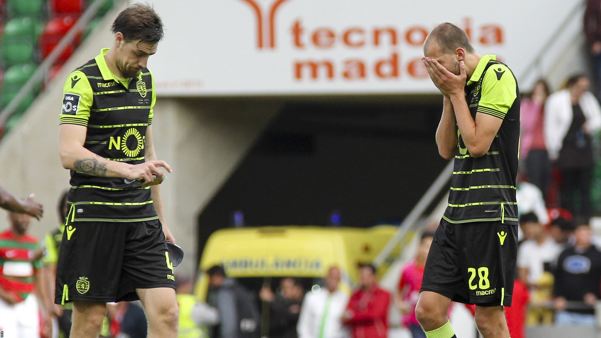 Sporting Lisbon in shock cup final defeat, five days after players were attacked