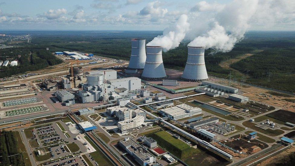منشأة لينينغراد النووية تعمل بصورة طبيعية