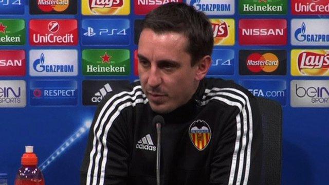 New Valencia manager Gary Neville