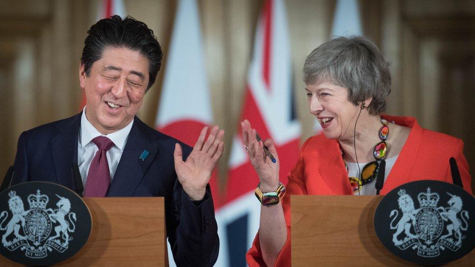Abe and May