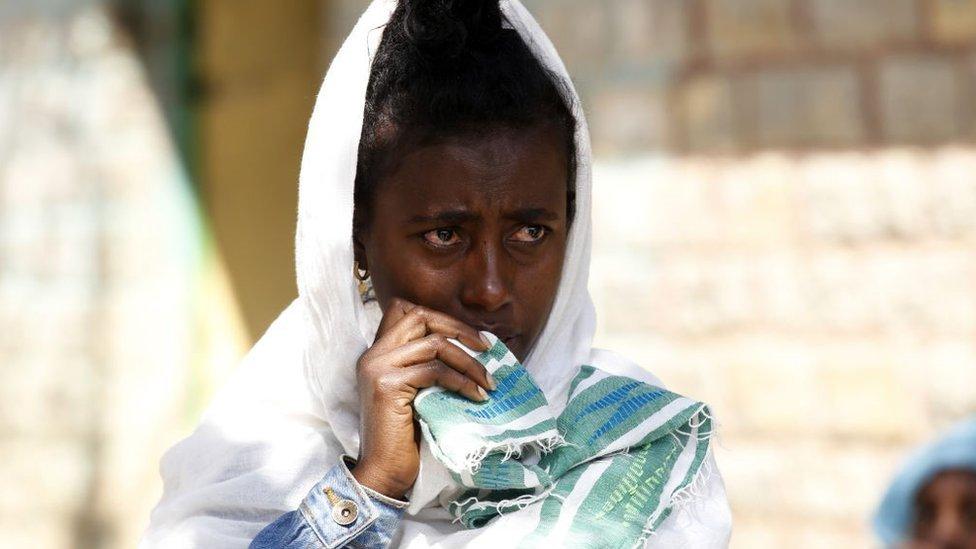 El conflicto en Tigray ha obligado a muchas familias a huir de sus hogares
