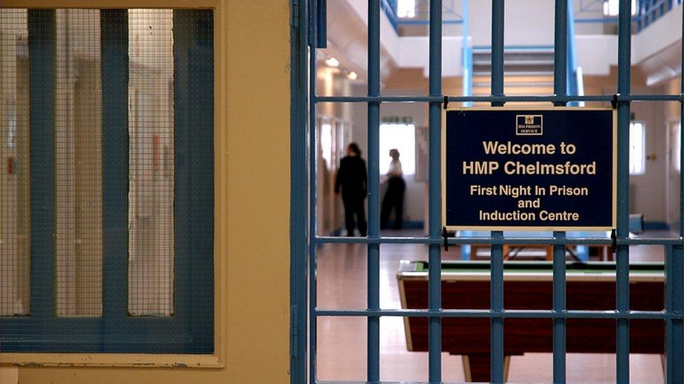 Inside Chelmsford Prison