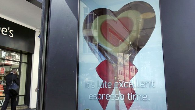 A bus stop advert that uses artificial intelligence to write itself