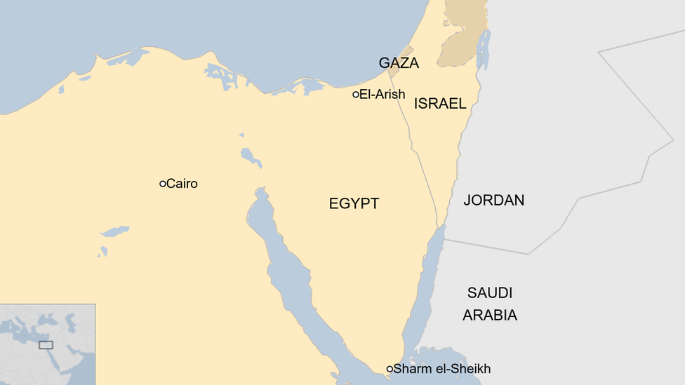 Helicopter crash involving worldwide peacekeeping force leaves 7 dead in Egypt
