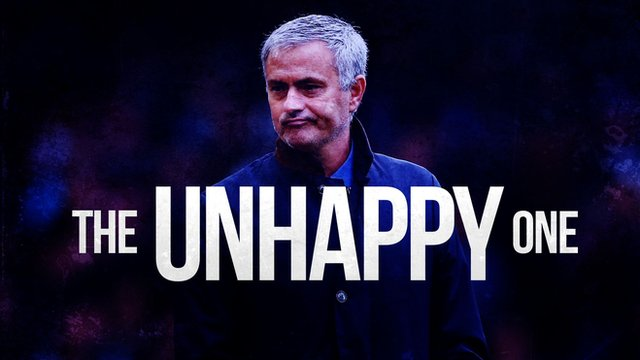 Jose Mourinho: 'The Unhappy One'