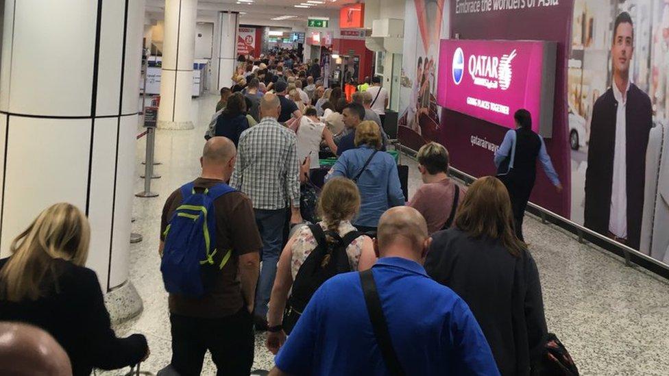 TUI airline 'left passengers stranded' at Birmingham Airport