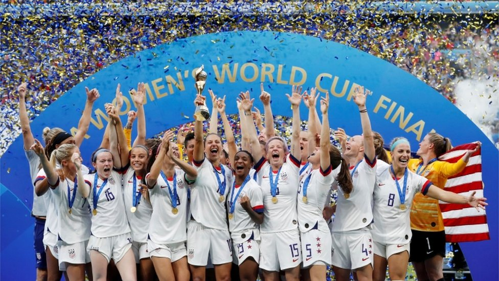 US Women win the world cup