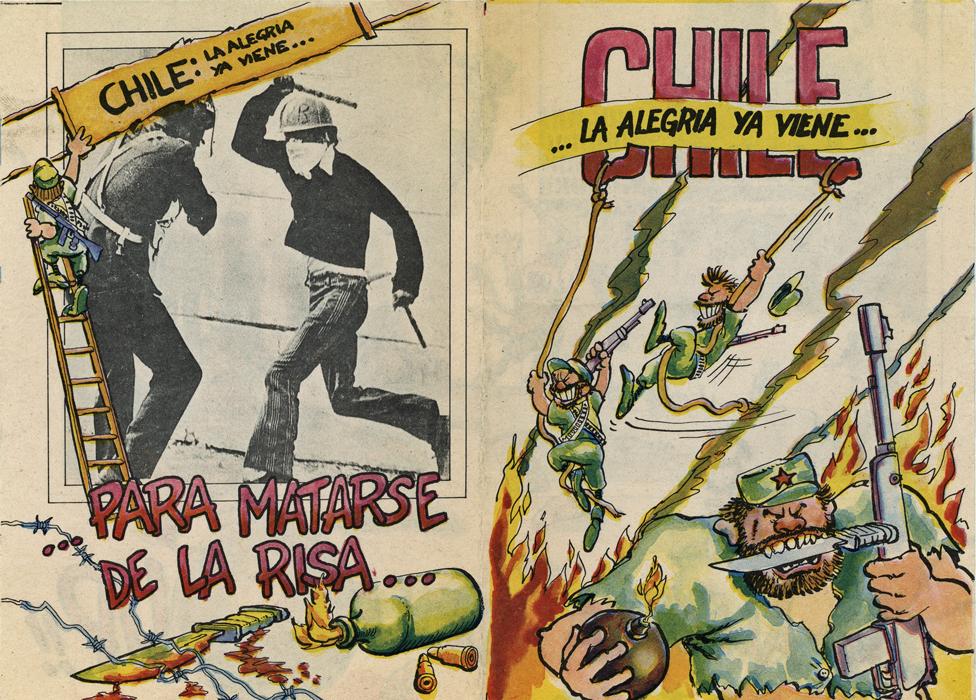 Резултат со слика за comics una historia de chile