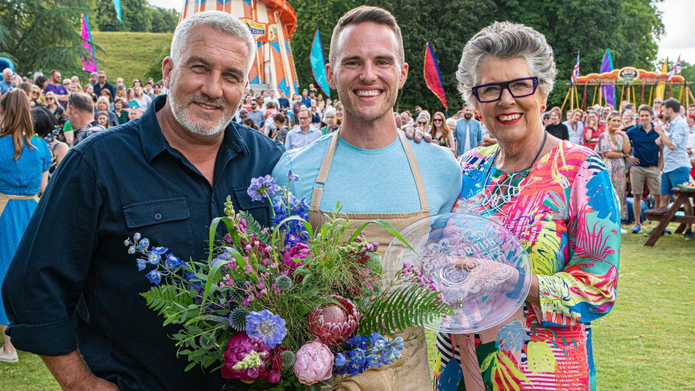 Paul Hollywood, David Atherton and Prue Leith